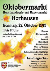 Oktobermarkt Horhausen (Herbstmarkt)