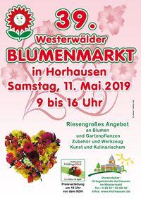 Westerwälder Blumenmarkt Horhausen