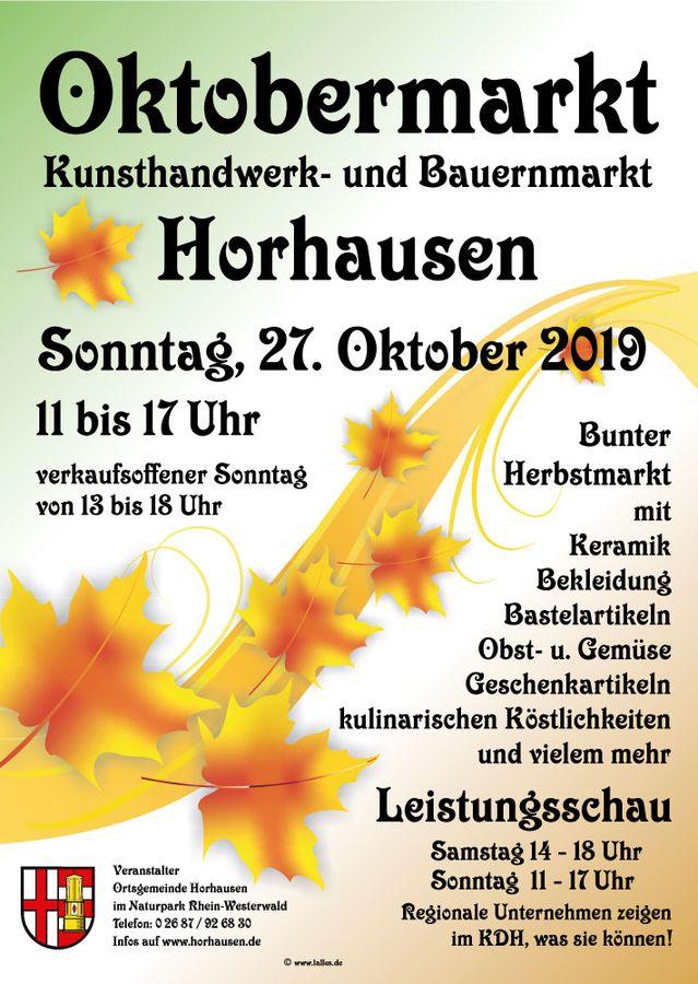 Oktobermarkt 2019 (Herbstmarkt)